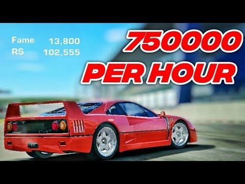 Real Racing 3 Farming [750K Per Hour] Ferrari F40 2020