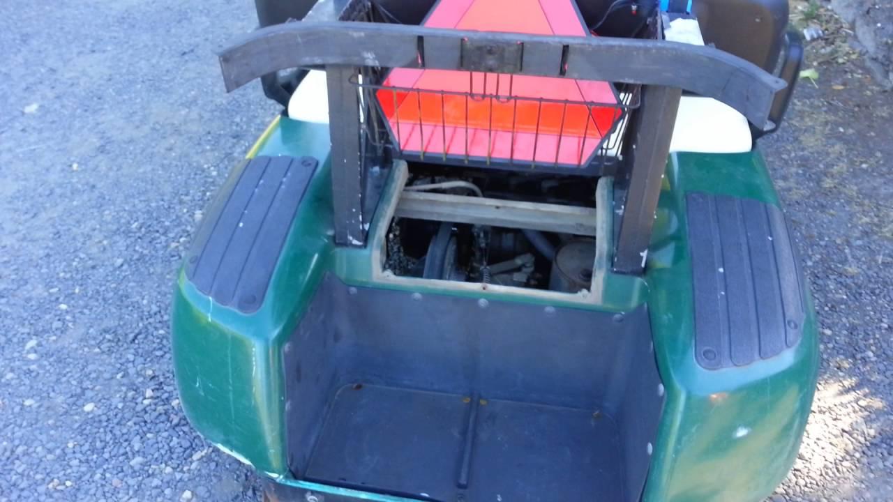 2002 EZGO gas Golf Cart governor adjustment 20 MPH  YouTube