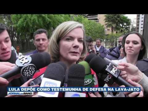 Lula depõe como testemunha de defesa na Lava Jato