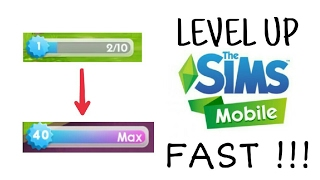 The Sims Mobile Cheats Level Up Fast, And Mod