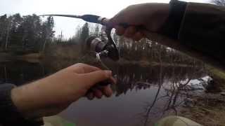 Рыбалка на реке Керженец 2014 г.