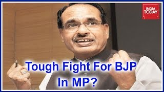 Shivraj Singh Chouhan To Face Tough Fight Against Congress In Madhya Pradesh #Results2018?