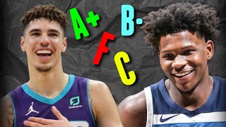 2020 NBA Draft Rookie Report Cards...