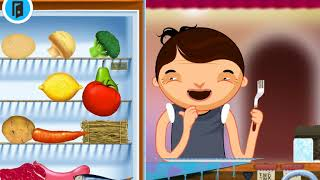 Toca Kitchen Cooking for kids  Fun games  Kitchen learn