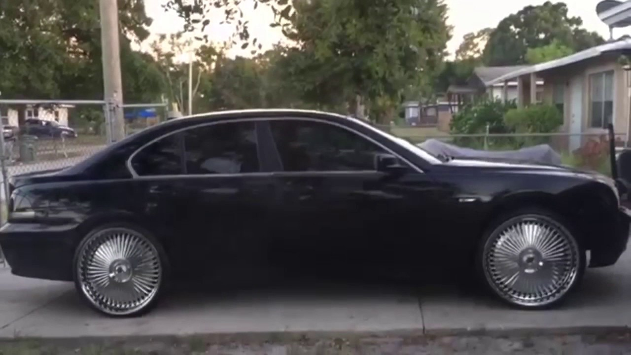 BMW 745 On 24s DUB Wheels