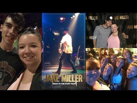 Meeting Jake Miller *Last Concert*