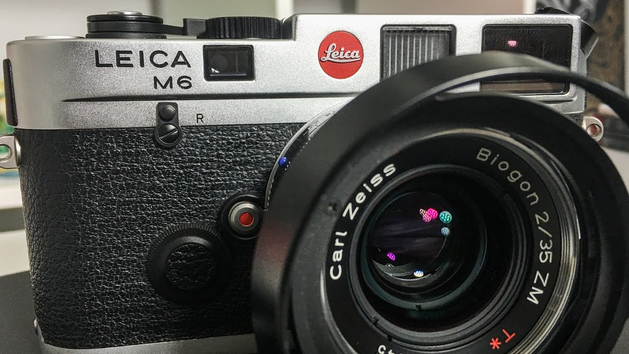 3cea124c91f MY FIRST LEICA!!! Leica M6 Panda Unboxing Overview   Detailed Look ...