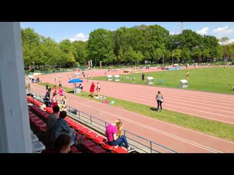 200m, II seria, X WOM, Wrocław 14.05.2017