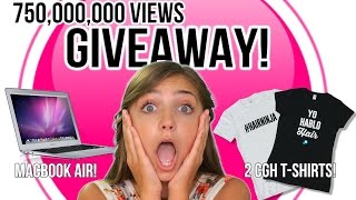 MacBook Air + 2 CGH T-Shirts GIVEAWAY! | CuteGirlsHairstyles
