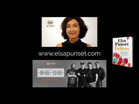Elsa Punset - Entrevista en la radio argentina. Programa Perros de la calle - Libro FELICES