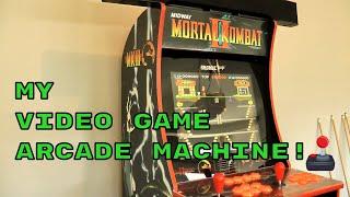 My Video Game Arcade Machine, Modded Arcade1UP, RetroPie On Raspberry Pi! 🎮🕹👾