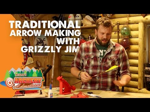 Traditional Arrow Making: Painting, Cresting and Fletching