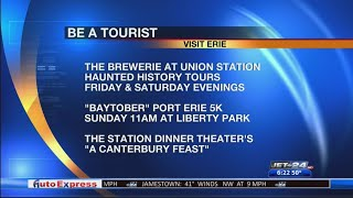 Be a Tourist- Events around town 10/18/2019