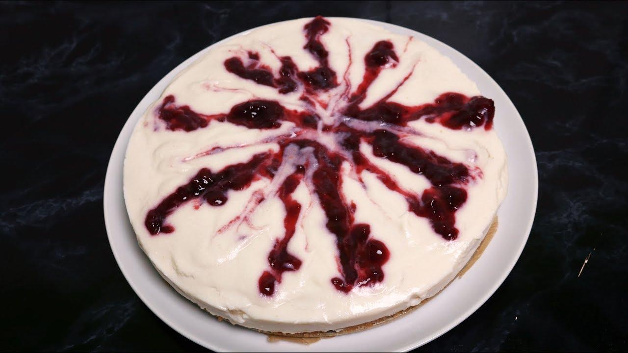 Kiba Torte Kirsch Bananen Torte Ohne Backen Rezept Vegan Youtube