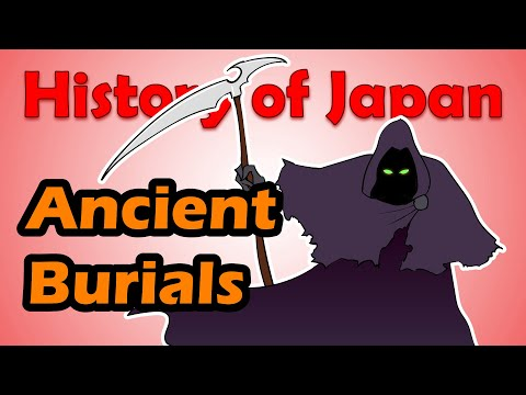 How did the Ancient Japanese Bury the Dead?   History of Japan 9