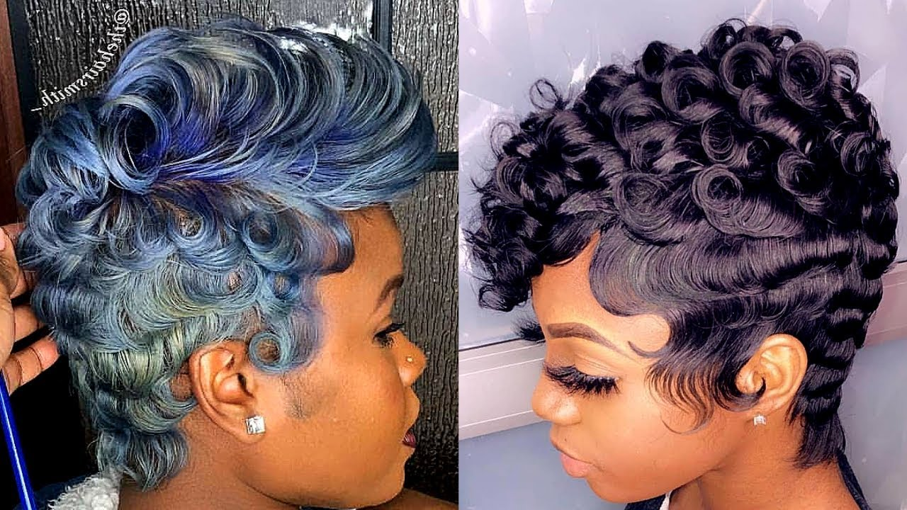 ??2019 BEST SHORT HAIRSTYLES FOR BLACK WOMEN??