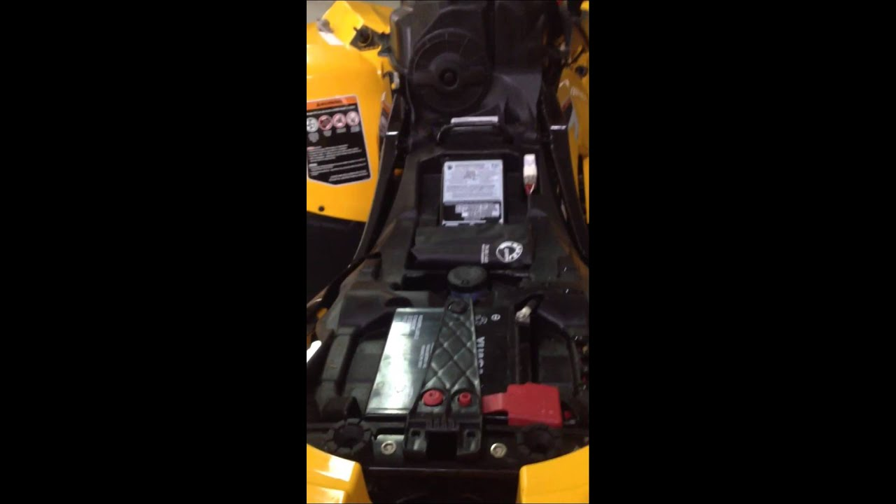 maxresdefault 2013 can am renegade problem! youtube fuse box location for can am 2004 outlander at bayanpartner.co