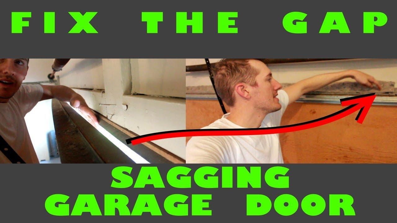 Garage Door Rubber Seal >> Fix the Gap - Garage Door Seal - YouTube