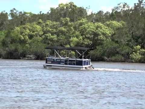 Torqeedo Cruise 4 On Dolphin Boat Hire Pontoon