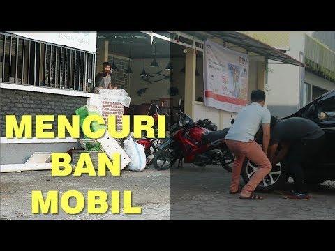 PRANK MENCURI BAN MOBIL