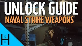 BF4 How to unlock the Naval Strike weapons - Battlefield 4