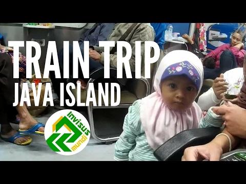 Train trip from Jakarta to Yogyakarta. Indonesia travel blog