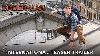 SPIDER-MAN: FAR FROM HOME - INTERNATIONAL TEASER TRAILER - IN CINEMAS JULY 1