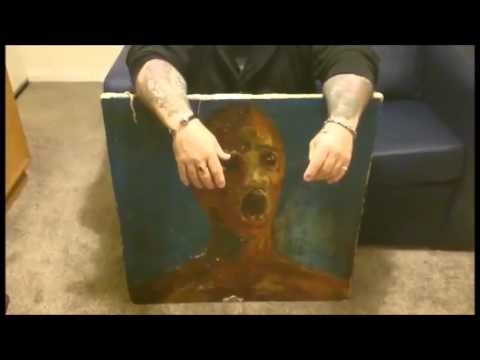 The Painting's Owner Uploaded  is listed (or ranked) 3 on the list Is The 'Anguished Man' A Legitimately Haunted Painting?
