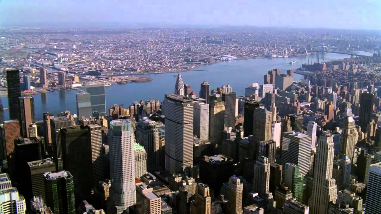 New York Aerials and Green Screen Driving Demo - YouTube