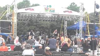 "Tuff- ""Good Guys Wear Black"" live @ 80s in the Park, Melbourne, FL 9/26/14"