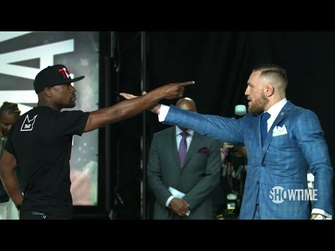 Thumbnail: Vintage Conor! Floyd Mayweather vs. Conor McGregor Toronto presser best bits