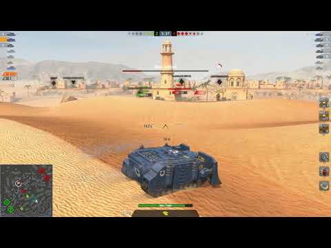 World Of Tanks Blitz - Vindicator Gameplay