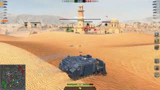 World of Tanks Blitz - Vindicator gameplay