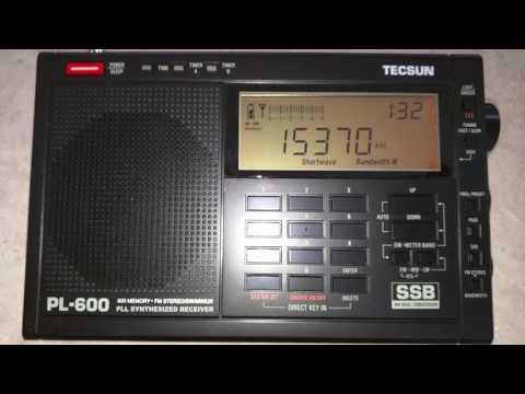 Radio Habana Cuba - 15370 KHZ - 21:29 UTC - Tecsun PL 600