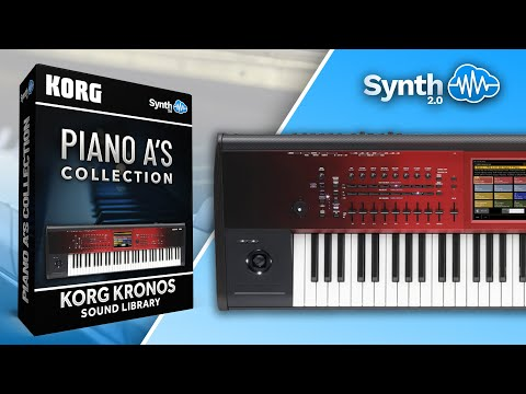 Piano A'S Collection Sound Bank for Korg Kronos / X / 2 ( Synthcloud  Library ) demo 1