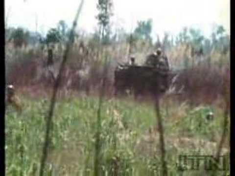 Battle of An Loc: ARVN troops in M113 Gavins Kick NVA Ass!