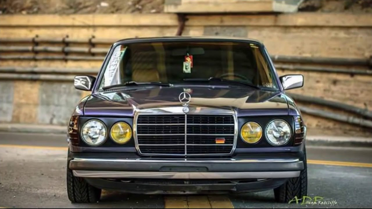 Mercedes Benz W123 Tuning Wow Youtube