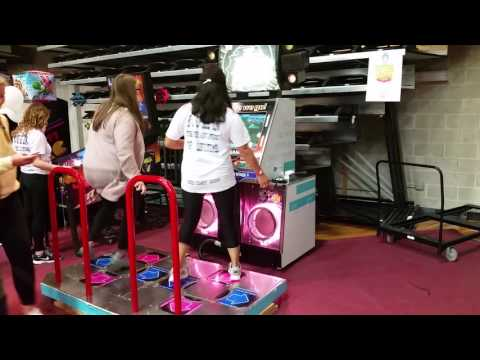 DANCE DANCE REVOLUTION DANCE MACHINE ARCADE GAME RENTAL- FOUR SEASONS AMUSEMENTS