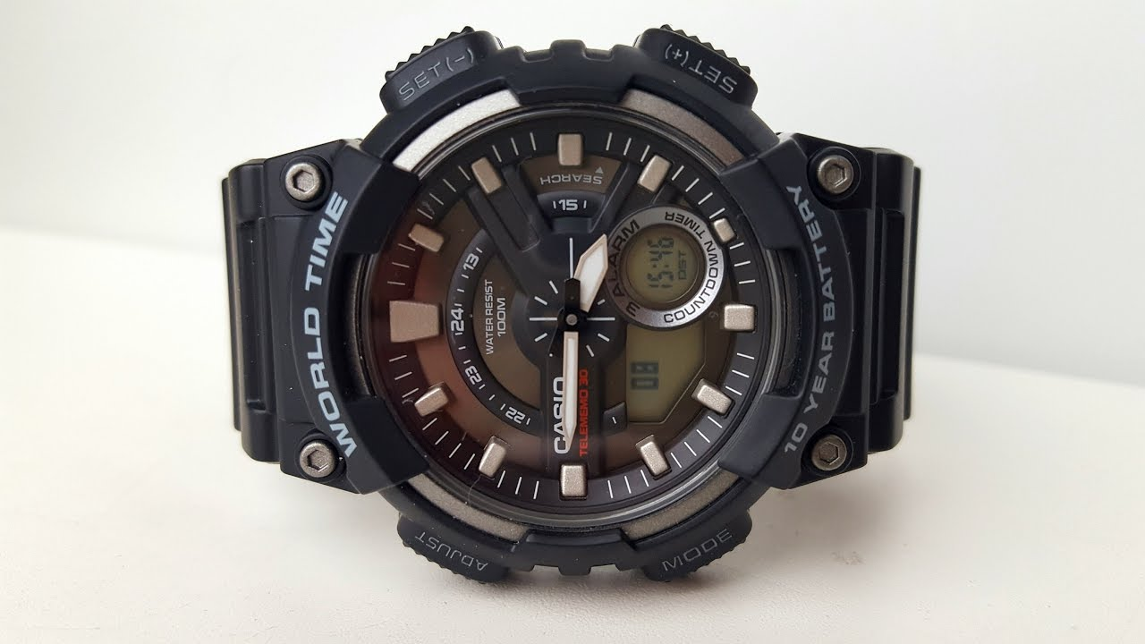 Часы Casio AEQ-110W-2A Часы Ника 1071.1.1.15A