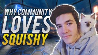 Why Rocket League Community Loves Squishy Muffinz! (BEST GOALS & FUNNY MOMENTS)