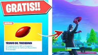 *FREE IN FORTNITE* RAPID BEFORE FORTNITE REMOVES IT!!! | FUTBOL BALÓN TOY Fourth Down