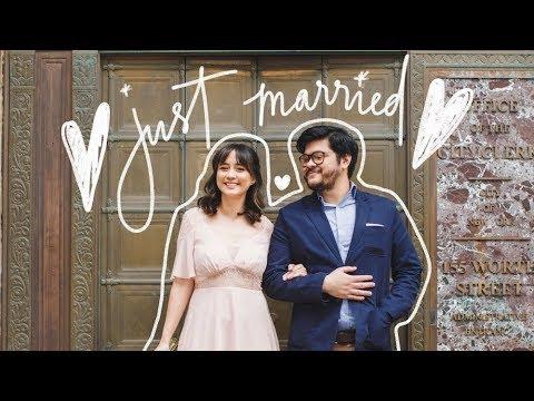Our New York City Civil Wedding ❤️ | Camie Juan