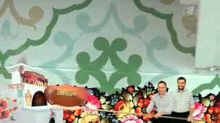 """Компания """"500 Кухонь"""" в программе """"Фазенда"""" на 1 канале"""