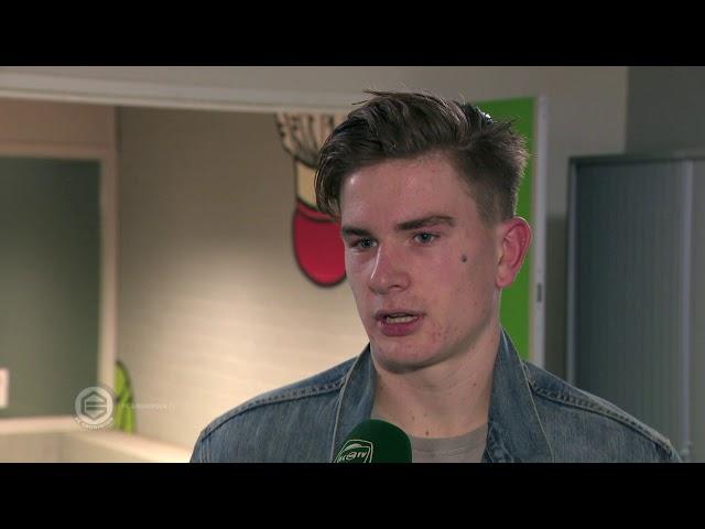 Tom van de Looi debuteert tegen zijn vader