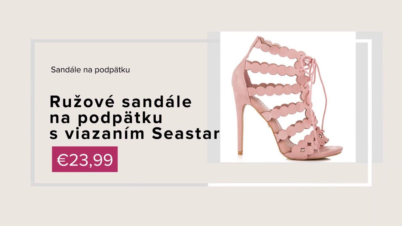 fb47de6c6fbb NAJ.SK - Sandále a lodičky z novej jarnej kolekcie obuvi 2018 - YouTube