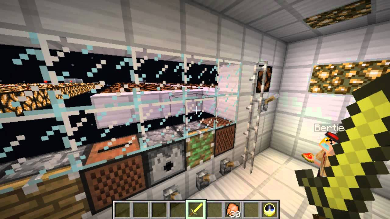 Minecraft SPACE STATION Map ! Escape Pod Exit ! - YouTube