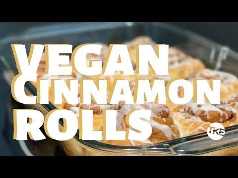 Soft and Buttery Vegan Cinnamon Rolls