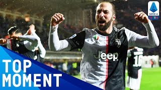 Higuain Gives Juventus the Lead! | Atalanta 1-3 Juventus | Top Moments | Serie A