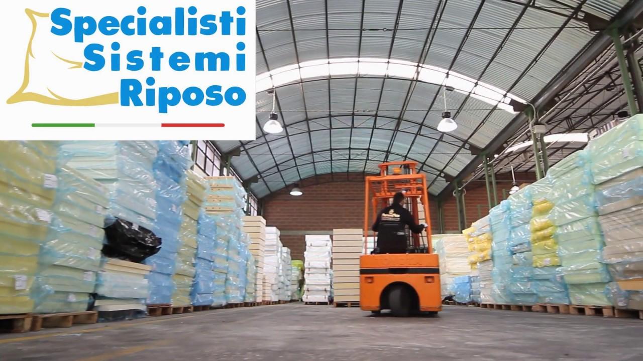Fabbrica Di Materassi.Specialisti Sistemi Riposo Fabbrica Di Materassi Youtube