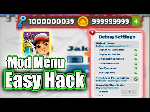 How To Hack Subway Surfers Latest Without ROOT